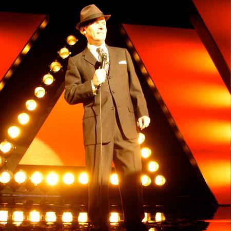 Phil Fryer as Frank Sinatra