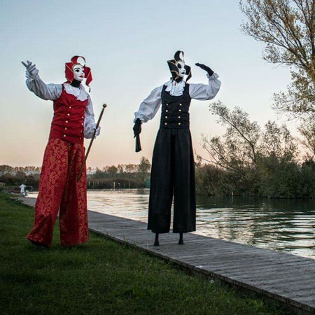 Diego Voltini - Venetian Stilt Walkers