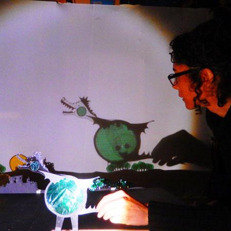Cia. Olveira Salcedo Teatre d'Ombres - Shadow Puppet Show