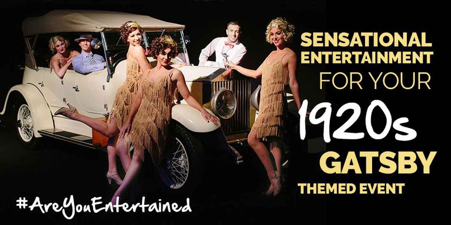 Sensational Entertainment For Your 1920s Gatsby Themed Event