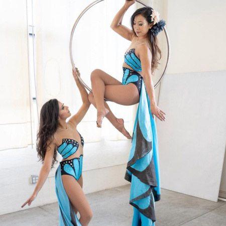 The Dahlias Acrobatic Duo - Aerial Hoop/Silks