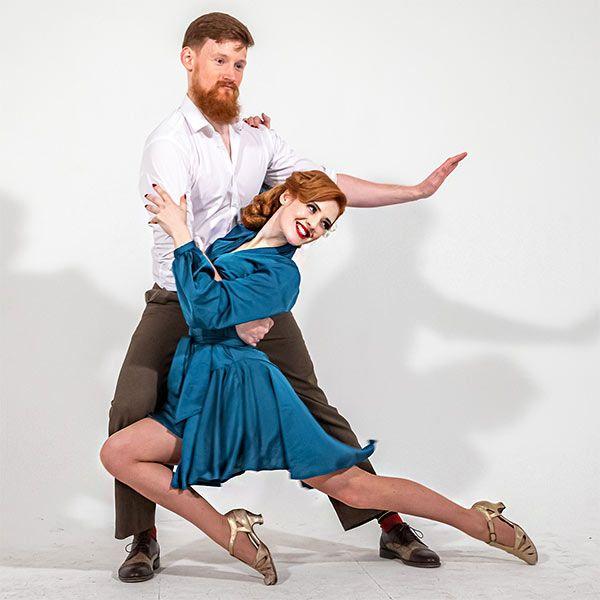Vintage Swing Dance Duo