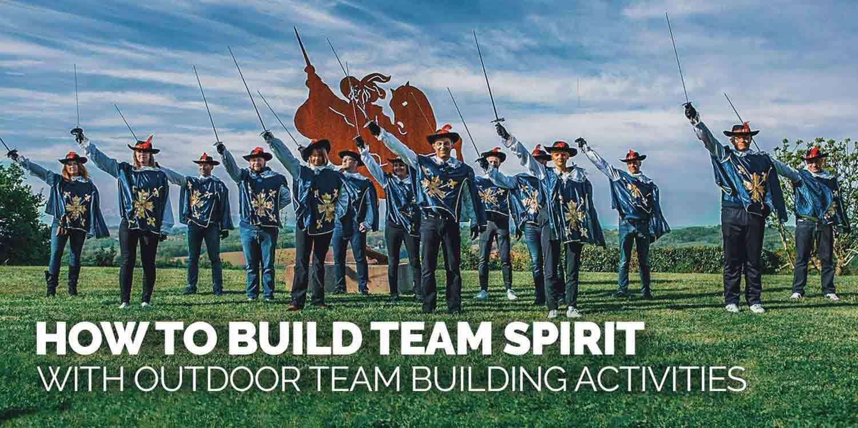 How to Build Team Spirit with Outdoor Team Building Activities
