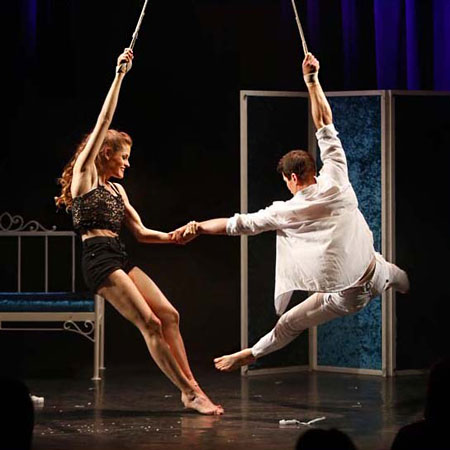 Diego&Elena - Aerial Strap and Quick Change