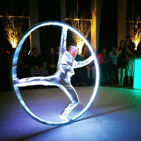 Phoenix Entertainment NYC - LED Cyr Wheel