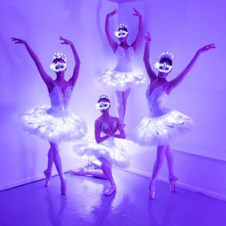 Sophie Adams Ballet Company - LED Masquerade Ballerinas