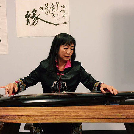 Mingmei Yip - Chinese zither player