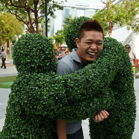 The Living Statue Company - Hedge People