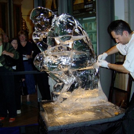 PSD Ice Art
