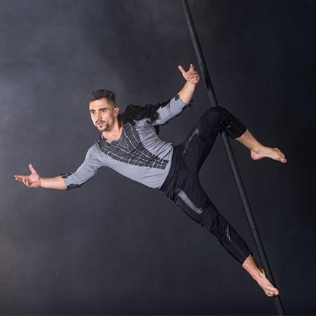 Andrey Tkachenko - Flying Pole Act