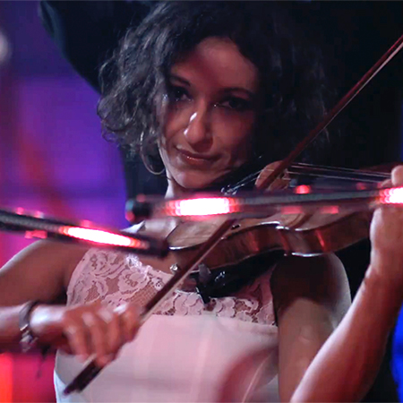 Voice Of Violin - Violin and LED show