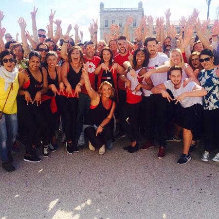 Flashmob's