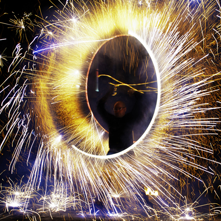 Vincent Mezieres - Fire Show
