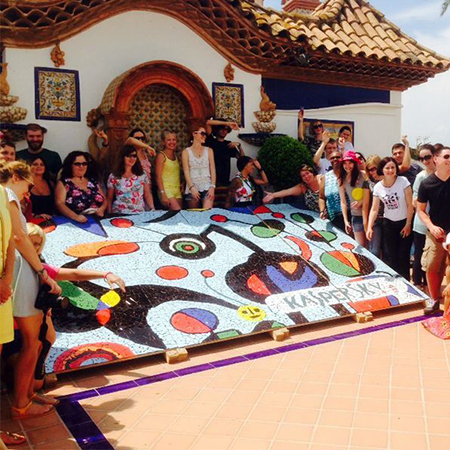 Corporactivity - Gaudi-Style Giant Mosaic Making