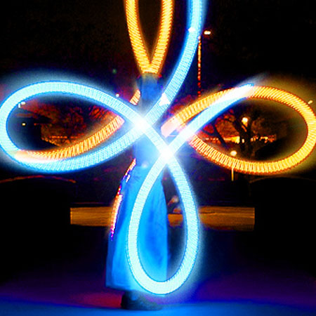 Champagne Creative Group - LED Poi Spinner
