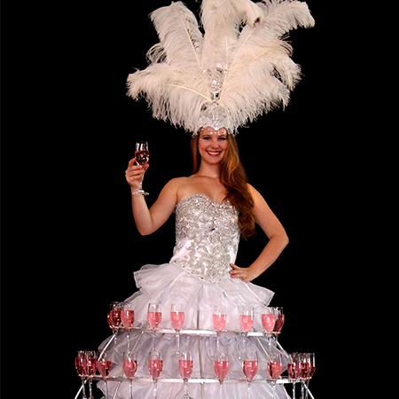 Fire Desire - Champagne Dresses