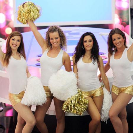 Les Danseuses d'Or - Cheerleaders
