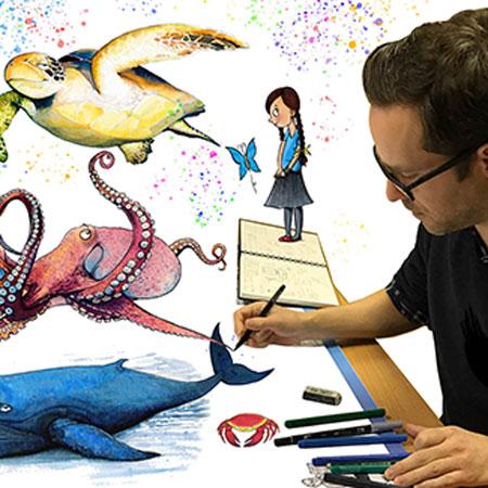 James Cottell - Illustrator and Caricaturist