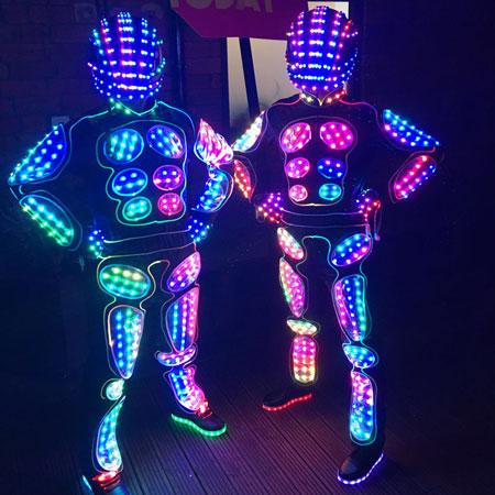 The Dance Mob - LED Botz Dancers