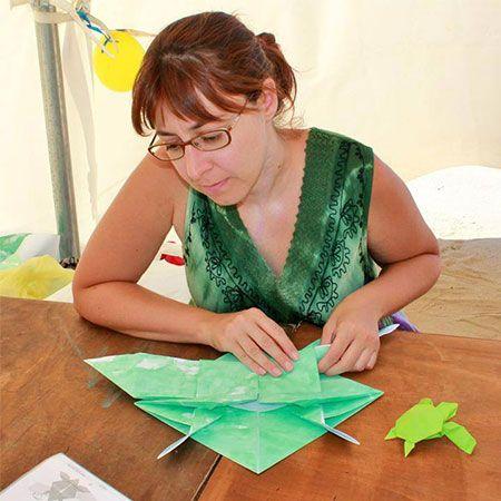Alessandra Lamio - Origami Artist