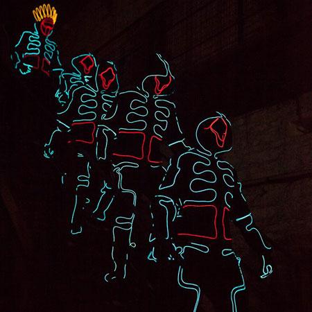The Dance Mob - Tron Dancers
