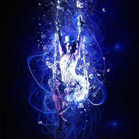 """""""Ice Queen"""" Trapeze On Ice"""