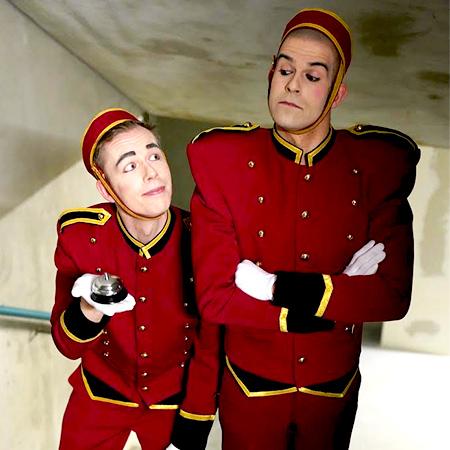 Pantomime Popkultur - Bellboys
