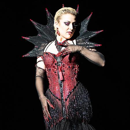 Aria Delanoche Burlesque - Ladyboots