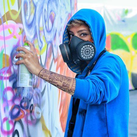 Pink8in - Female Graffiti