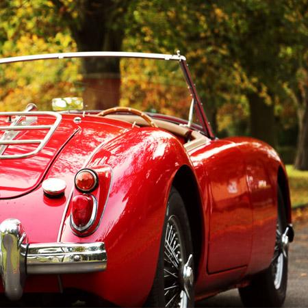 Webbs of Weybridge - Classic Car Hire