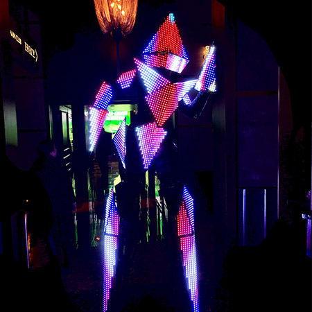 Hayden Productions -  Futuristic LED Mirror Character