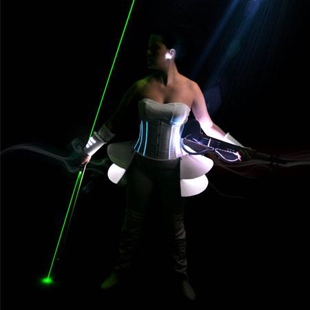 VioDance - DJ and Laser Violin