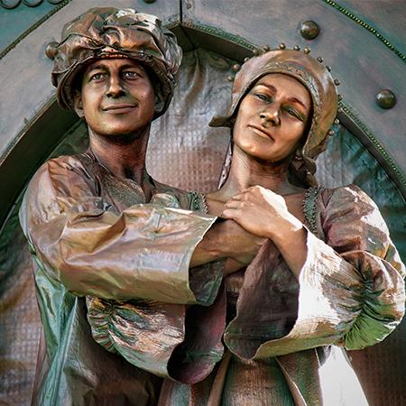 Quideia - Living Statues