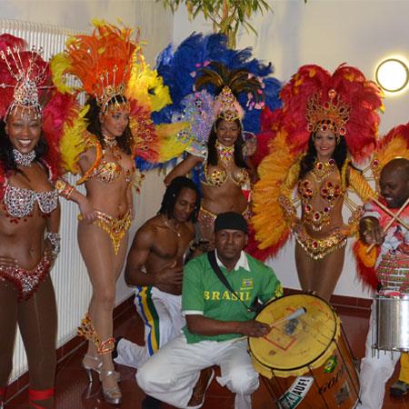 Latinas do Samba