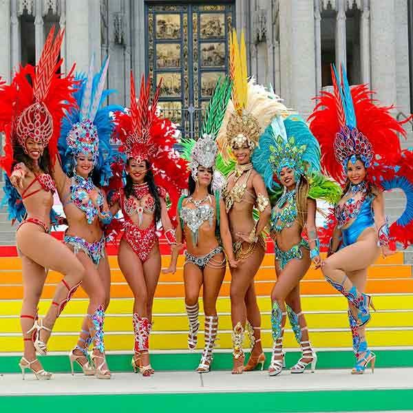 Brazilian Samba Dance Show Entertainment