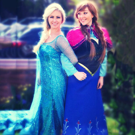 The Dance Mob - Frozen Characters