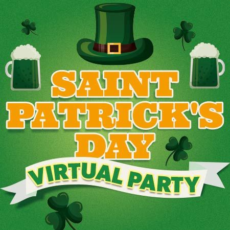 Custom Creations - St Patrick's Day Virtual Party