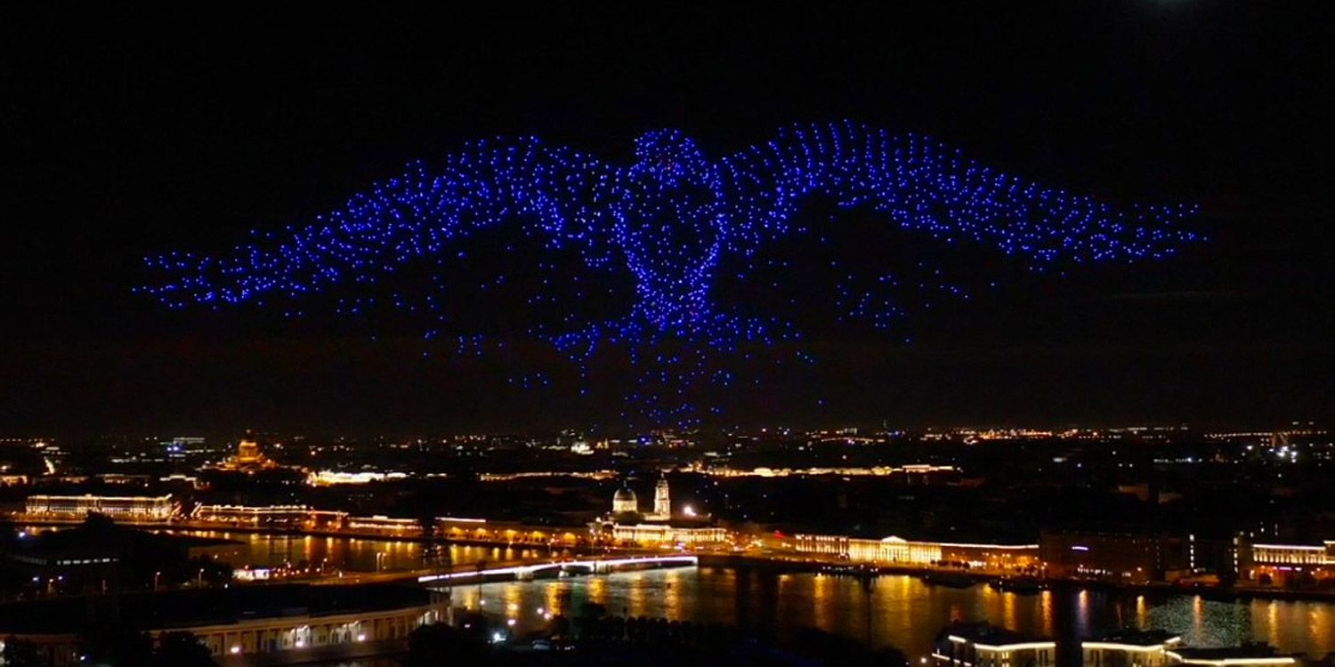 Drone Shows Light Skies Across the Globe