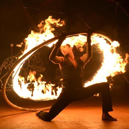Fusion Arts - Fire Dance Show