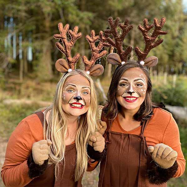 Merry and Berry - Virtual Christmas Reindeer