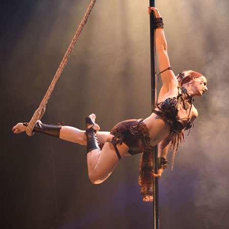Scarlet Butterfly - Pirate Pole Dance Show