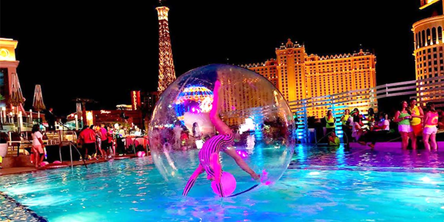 Aqua Sphere Act & Mermaids Bring Glamour To Beauty Brand Private Event In Vegas