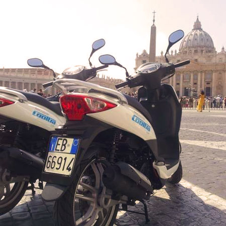 Tour in Rome - Rome Scooter Tours