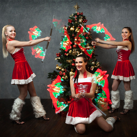 Illizium - Christmas Themed Pixel Poi