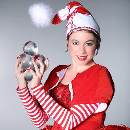Candy Cane Elf - Contact Ball Act