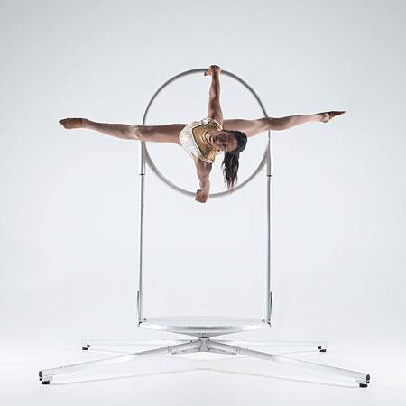 Sarah Louis-Jean - Freestanding Aerial Hoop