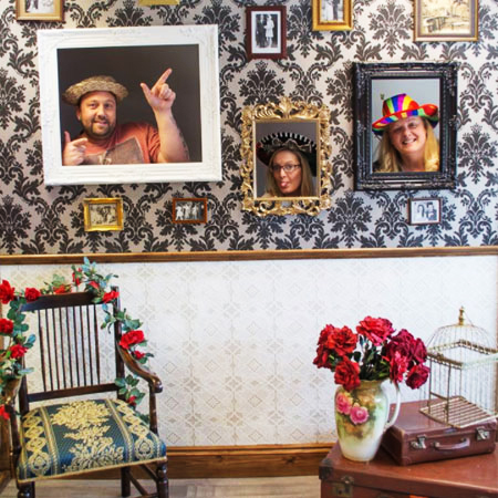 The Prop Boutique - Vintage Photo Booth Wall