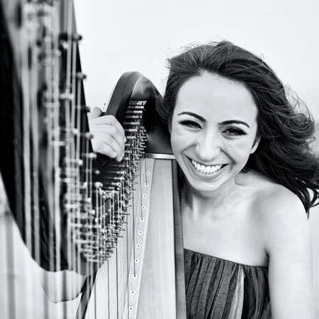 Harpist Lidia