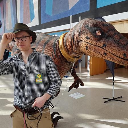Pantomime Popkultur - Dinosaur Act