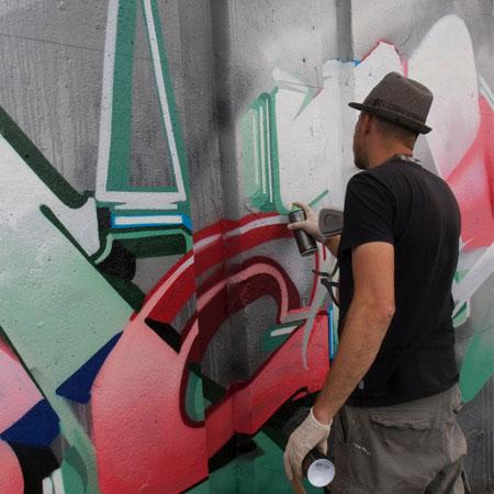 Vincent Huibers - Graffiti Artist